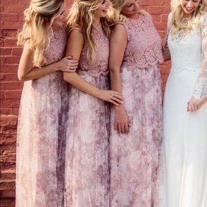 Blush Bridesmaids separates from BHLDN
